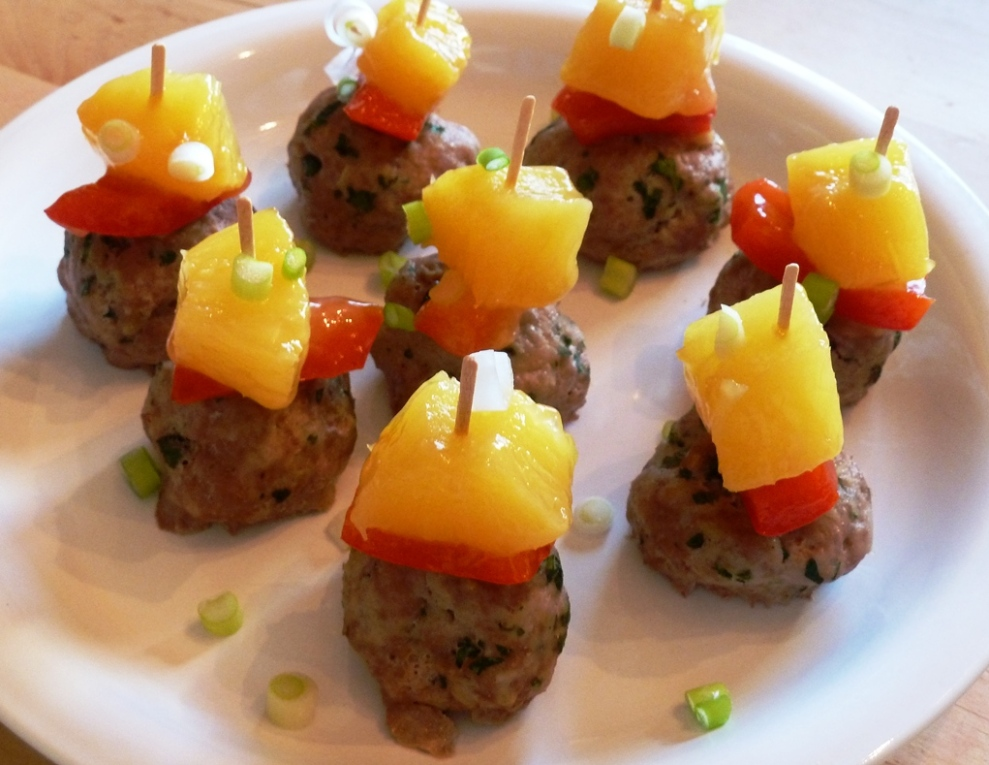 sweet sour meatballs